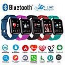 povoljno Smart Wristbands-d13 smartwatch bt fitness tracker podrška obavijesti / mjerenje krvnog tlaka sport pametni sat za samsung / iphone / android telefone