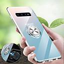 voordelige Galaxy S-serie hoesjes / covers-hoesje Voor Samsung Galaxy S9 / S9 Plus / S8 Plus Schokbestendig / met standaard / Ringhouder Achterkant Transparant Zacht TPU