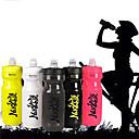 رخيصةأون مخففات التوتر-Nuckily دراجة هوائية زجاجات المياه BPA الحرة المحمول خفة الوزن ضد التهريب Non Toxic من أجل ركوب الدراجة دراجة الطريق دراجة جبلية التخييم والتنزه الخارج ركض PP رمادي فوشيا أصفر فاتح