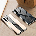 abordables Carcasas / Fundas para Huawei-caja del teléfono para huawei p30 pro p30 lite p30 chapado a prueba de golpes espejo de la pc cubierta trasera dura para huawei p20 pro p20 lite p20 tpu edge case