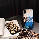 رخيصةأون أغطية أيفون-غطاء من أجل Apple iPhone XS / iPhone XR / iPhone XS Max ضد الغبار / نموذج غطاء خلفي خطوط / أمواج جل السيليكا