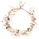 ieftine Bijuterii de Păr-Pentru femei Pentru Petrecere Petrecere Nuntă Imitație de Perle Material Textil Aliaj Auriu 1 buc