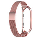 رخيصةأون قيود ساعات-watch band for mi band 4 / mi band 3 xiaomi milanese loop stainless steel wrist strap s