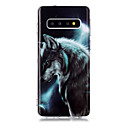voordelige Galaxy S7 Hoesjes / covers-hoesje Voor Samsung Galaxy S9 / S9 Plus / S8 Plus IMD / Patroon Achterkant dier TPU