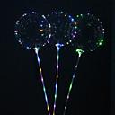 povoljno LED svjetla u traci-5pcs višekratnu upotrebu svjetleće vodio balon okrugli mjehurić dekoracija vjenčanje infantiles rođendan dekor