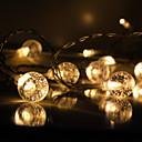 رخيصةأون شرائط ضوء مرنة LED-3M شرائط قابلة للانثناء لأضواء LED / أضواء الذكية 10 المصابيح 1 × جهاز استشعار شرطة التدخل السريع أبيض دافئ / أبيض كول إبداعي / ديكور / اللصق التلقي بطاريات تعمل بالطاقة 1PC
