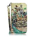 رخيصةأون أغطية أيفون-غطاء من أجل Apple اي فون 11 / iPhone 11 Pro / iPhone 11 Pro Max حامل البطاقات / ضد الصدمات / نموذج غطاء كامل للجسم حيوان TPU
