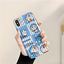 voordelige iPhone-hoesjes-hoesje Voor Apple iPhone XS / iPhone XR / iPhone XS Max Waterbestendig / Schokbestendig / Stofbestendig Achterkant Cartoon TPU