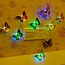 رخيصةأون أزهار اصطناعية-1PC ضوء ليلي تغيير اللون زر البطارية بالطاقة إبداعي 5 V