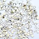 ieftine Îngrijire Unghii-1200pcs / ambalaj diy diamant tăiere cristal nail art 3d flatback unghii piatră decorațiuni unghii 15 culori