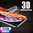 رخيصةأون حافظات / جرابات هواتف جالكسي S-آيفون 6 6 ثانية 7 8 زائد xr 3d لينة هيدروجيل فيلم حامي الشاشة ل iphone5 5 ثانية se x xs ماكس الغطاء الكامل (وليس الزجاج)