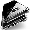 رخيصةأون حافظات / جرابات هواتف جالكسي J-غطاء من أجل Samsung Galaxy J7 (2017) / J7 / J5 (2017) ضد الصدمات / ضد الغبار غطاء خلفي شفاف ناعم TPU