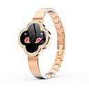 voordelige iPhone 6s / 6 screenprotectors-s6 smartwatch voor vrouwen hartslagmeter ip67 waterdichte fitness brecelet tracker draagbare polsbandje smartwatch