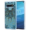 tanie Etui / Pokrowce do Samsunga Galaxy S-Kılıf Na Samsung Galaxy S9 / S9 Plus / Galaxy S10 Odporny na wstrząsy / Transparentny / Wzór Osłona tylna Kwiat Miękka TPU