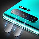 abordables Etuis / Couvertures pour Huawei-protecteur d'écran pour huawei p30 pro / huawei p30 lite verre trempé 1 pc caméra protecteur d'objectif haute définition (hd) / 9h dureté / antidéflagrant