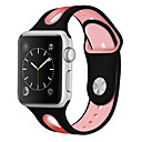رخيصةأون أساور ساعات هواتف أبل-watch watch for apple watch series 5/4/3/2/1 apple sport band silicone wrist strap