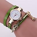 رخيصةأون أقراط-نسائي ساعة رقمية كوارتز سيليكون ساعة كاجوال مماثل الحد الأدنى - أخضر أزرق أزرق فاتح
