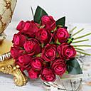 رخيصةأون أزهار اصطناعية-دونغقوان pho_090f18pcs العروس روز باقة الاصطناعي زهرة الزفاف الديكور المنزل التصوير الدعائم ضوء الشمبانيا
