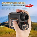 povoljno Instrumenti koji mjere razinu-SNDWAY SW-1500A 5~1500M Golf laserski daljinomjeri Višefunkcijski / Automatsko isključenje / AirPlay Za vanjsku Sporting / za vanjsko mjerenje