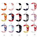 voordelige Galaxy Note-serie hoesjes / covers-Horlogeband voor Apple Watch Series 5/4/3/2/1 Apple Klassieke gesp Silicone Polsband
