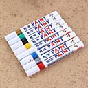 olcso Mérőeszközök-vízálló állandó toll autó gumiabroncs gumiabroncs futófelület cd festék markerek graffiti olajos marker toll