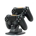 ieftine Accesorii PC Game-dual usb stație de încărcare stație leagăn pentru Sony PlayStation 4 ps4 pro / ps4 subțire