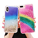 voordelige iPhone 6 hoesjes-hoesje voor apple iphone xs max / iphone 8 plus glitter shine / schokbestendig / stofdicht achterkant glitter shine / color gradient soft tpu voor iphone 7/7 plus / 8/6/6 plus / xr / x / xs