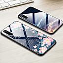 رخيصةأون Xiaomi أغطية / كفرات-حالة قذيفة الهاتف الزجاج الملون ل xiaomi mi 9 mi 8 لايت mi 8 mi 6x mi 5x mi a2 mi a1 تغطية لامعة tpu حافة الزجاج المقسى الصعب