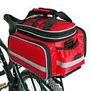 رخيصةأون ملصقات ديكور-FJQXZ حقيبة جذع الدراجة حقائب الدراجة للخلف سعة كبيرة مقاوم للماء حجم قابل للتعديل حقيبة الدراجة نايلون حقيبة الدراجة حقيبة الدراجة أخضر / الدراجة