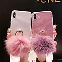 olcso iPhone tokok-Case Kompatibilitás Apple iPhone XS / iPhone XR / iPhone XS Max Csillogó Fekete tok Csillogó TPU