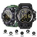 رخيصةأون ساعات الرجال-DM02 سمارت ووتش الرياضة passometer رسالة تذكير ip68 للماء بلوتوث الرجال / النساء smartwatch ل ios والروبوت