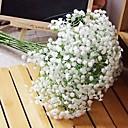 رخيصةأون أزهار اصطناعية-زهور اصطناعية 1 فرع كلاسيكي حديث للنباتات جدار زهرة
