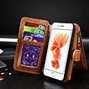 رخيصةأون أغطية أيفون-غطاء من أجل Apple iPhone 8 / iPhone 7 محفظة / حامل البطاقات / قلب غطاء كامل للجسم لون سادة جلد PU