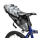 رخيصةأون تزيين المنزل-10 L حقيبة السراج للدراجة مقاوم للماء المحمول يمكن ارتداؤها حقيبة الدراجة 500D نيلون مادة مضادة للماء حقيبة الدراجة حقيبة الدراجة أخضر للجنسين الدراجة