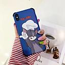 رخيصةأون أغطية أيفون-غطاء من أجل Apple iPhone XS / iPhone XR / iPhone XS Max ضد الصدمات / نموذج غطاء خلفي كارتون TPU