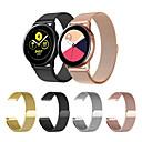 voordelige Ketting-Horlogeband voor Gear Sport / Gear S2 / Samsung Galaxy Watch 42 Samsung Galaxy Sportband / Milanese lus Roestvrij staal Polsband