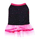 ieftine Imbracaminte & Accesorii Căței-Câini Rochii Îmbrăcăminte Câini Negru Roșu+negru Mov Costume Dalmațian Corgi Beagle Bumbac Tiare & Coroane Sweet Style Stil Clasic XS S M L