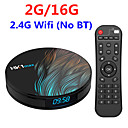 رخيصةأون صناديق التلفاز-hk1 max android 9.0 tv box 2gb 16gb rockchip rk3318 1080p h.265 4k 60fps bt4.0 google play store netflix youtube set top box