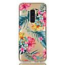tanie Etui / Pokrowce do Samsunga Galaxy S-Kılıf Na Samsung Galaxy S9 / S9 Plus / S8 Plus Odporny na wstrząsy / Transparentny / Wzór Osłona tylna Kwiat TPU