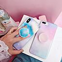 povoljno Maske/futrole za Xiaomi-Θήκη Za Apple iPhone XS / iPhone XR / iPhone XS Max sa stalkom / IMD / Uzorak Stražnja maska Crtani film / Prijelaz boje PC