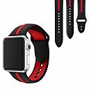 tanie Opaski do Apple Watch-Pasek do zegarka Apple Watch Series 4/3/2/1 Silikonowy pasek na nadgarstek Apple