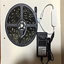 povoljno Kompleti svjetala-5m Savitljive LED trake / Setovi svjetala / RGB svjetleće trake 150 LED diode SMD5050 1 x 12V 3A adapter RGB APP kontrola / Kreativan / Party 100-240 V 1set / IP65
