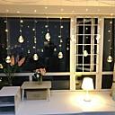 رخيصةأون وسائد-2.5M أضواء سلسلة 8 المصابيح أبيض دافئ ديكور 220-240 V 1SET