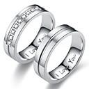 olcso Karikagyűrűk-Férfi Női Band Ring Gyűrű Tail Ring 1db Arany Ezüst Rozsdamentes acél Körkörös Személyre szabott Vintage Alap Ajándék Napi Ékszerek