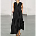 povoljno Naušnice-Žene Swing kroj Haljina Jednobojni Maxi