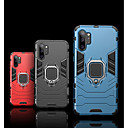 Недорогие Чехлы и кейсы для Galaxy Note 4-Кейс для Назначение SSamsung Galaxy Samsung Note 10 / Galaxy Note 10 Plus Поворот на 360° / Защита от удара / со стендом Кейс на заднюю панель броня ПК