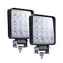 رخيصةأون مصابيح أعمال صيانة السيارات-4 بوصة السوبر ضئيلة 160W شعاع الأضواء مربع أدى ضوء العمل القيادة أضواء الضباب