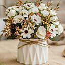 رخيصةأون أزهار اصطناعية-زهور اصطناعية 1 فرع كلاسيكي أوروبي النمط الرعوي الورود أرطنسية الإقحوانات أزهار الطاولة