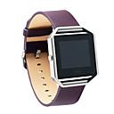 رخيصةأون خواتم-حزام إلى Fitbit Blaze فيتبيت الفرقة التجارية جلد طبيعي شريط المعصم
