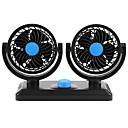 povoljno Privjesci za automobile i ornamenti-12v 360 stupnjeva podesivi ventilator za hlađenje zraka s dvostrukom glavom automobilski pribor za ventilator automobila s niskom bukom automobila ventilator hladnjaka